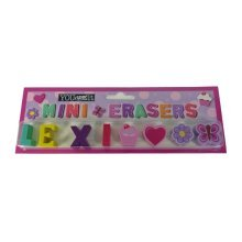 Childrens Mini Erasers - Lexi