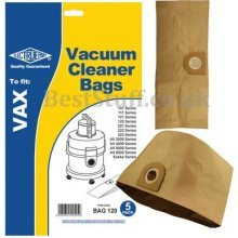 Electruepart BAG 120 5 packDust Bags to fit VAX Vacuum Cleaners