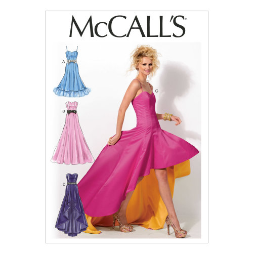 Misses' Dresses-6-8-10-12-14 -*SEWING PATTERN*