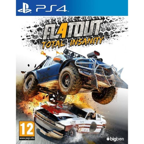 Flat Out 4 Total Insanity Racing Game Flatout 4 Ps4 On Onbuy