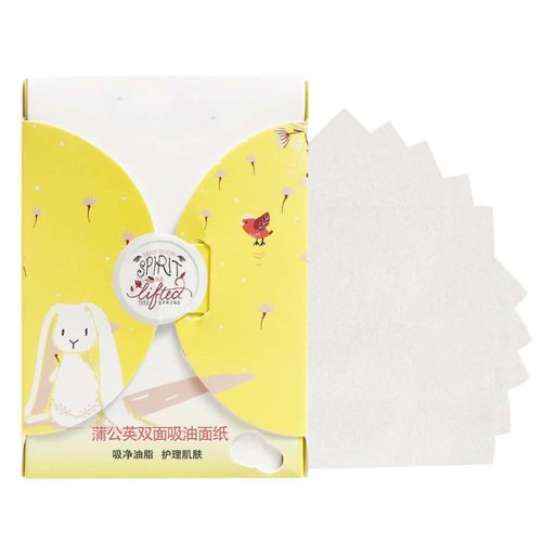 Men Women Summer Oil Control Blotting Paper Skin Blotting Paper 300 Sheets, Dandelion Scent