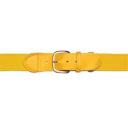 Adult Baseball & Softball Uniform Belt, Gold