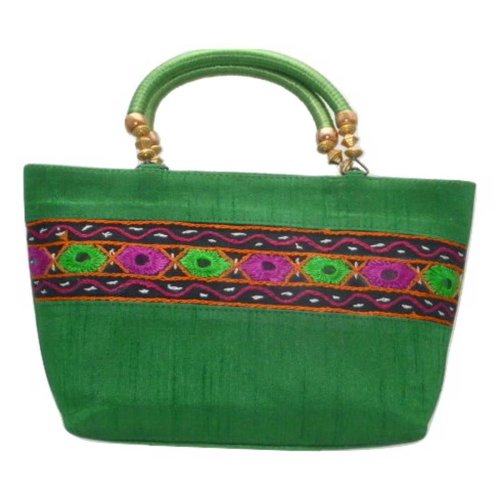 Silk Handbag Divya Silk Sauvage