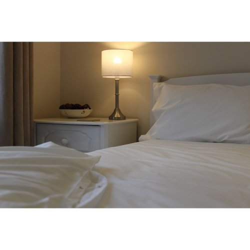 White 100% Egyptian Cotton Extra Deep Fitted Sheets 200 Thread Count - UK Made