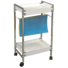 FILO - Office Filing / Crafting / Art Storage Trolley - White