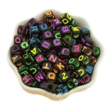Cube Beads for Necklace, Bracelets and Gifts Making