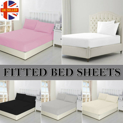 DEEP FITTED SHEET WITH ELASTIC BED SHEETS