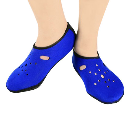 Sand Socks Water Skin Shoes Diving Socks,Blue XXL