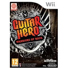 Guitar Hero 6: Warriors of Rock - Game Only (Wii)