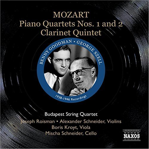 SZELL:BUDAPEST 4TET - MOZART: PIANO QUARTETS [CD]
