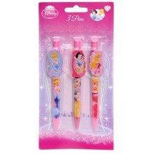 Princess Novelty Ball Pens - Pack of 3
