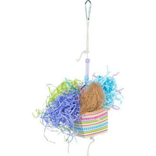 Prevue Pet Products 62673 Basket Banquet Bird Toy, Assorted Color - Pack of 144