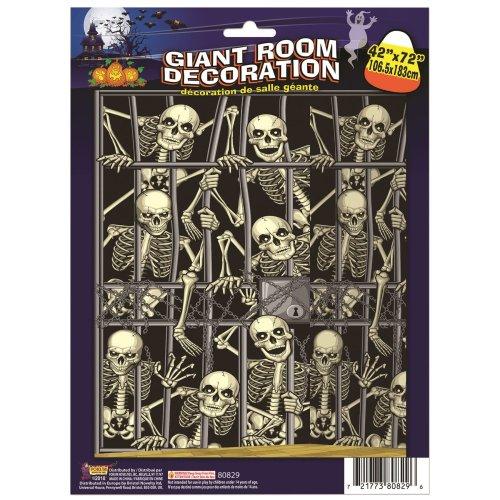 Skeleton Invasion Back Drop (105x180)