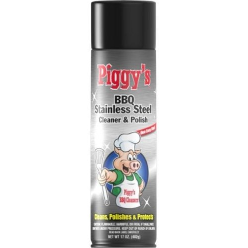 Max Professional 3668 BBQ Stainless Steel Cleaner  19 oz. - Pack of 12