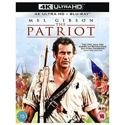 The Patriot [4K UHD] [Blu-ray] [2018] [DVD]