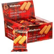 Walkers Pure Butter Shortbread 2 Pack Fingers - 24 ct.