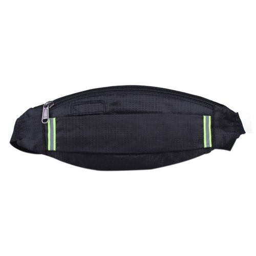 Outdoor Sports And Leisure Large Capacity Fashion Waist Bags, Black