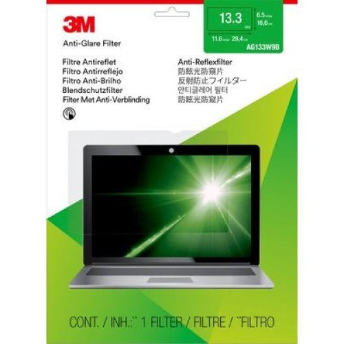 "3M AG133W9B 13.3"" Notebook Frameless display privacy filter"