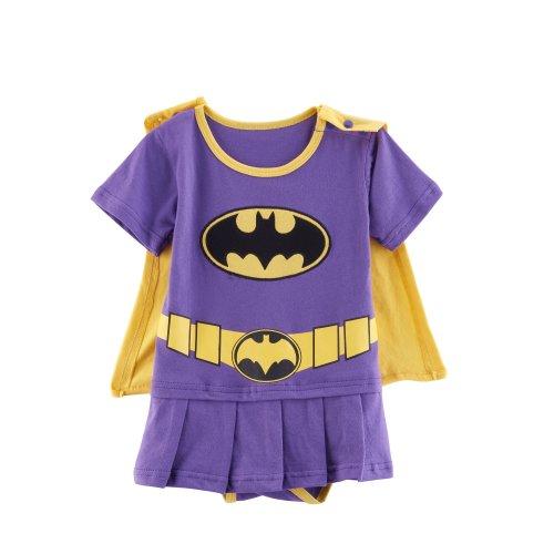 Batgirl-inspired Baby Infant Superhero Dress