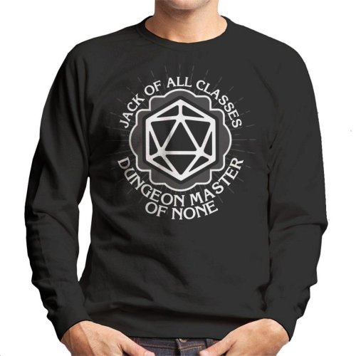 Master Of None Dungeons And Dragons Men's Sweatshirt
