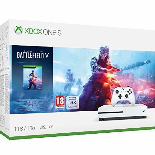 Xbox One S 1TB Battlefield V (New)