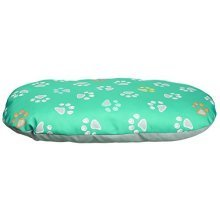 Trixie Jimmy Dog Cushion, 50 x 35 Cm, Turquoise/grey - Pillow Turquoisegrey -  trixie dog pillow jimmy turquoisegrey various sizes new pet cat puppy