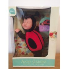 Anne Geddes Baby Ladybug Soft Toy