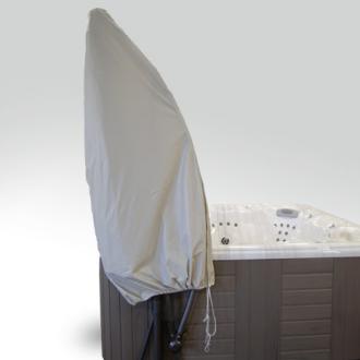 Cover Valet Spa Side Umbrella Cover | Protective Hot Tub Umbrella Tidy