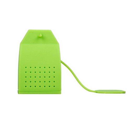 Silicone Tea Bag/Tea Mesh Strainer/Tea Infuser, Green