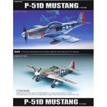 Aca12485 - Academy 1:72 - P-51d Mustang