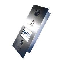 "AGFEO IP-Video TFE 1 3.5"" Silver video intercom system"