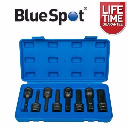 "BlueSpot 8pc 1/2"" Impact Hex Socket Set"