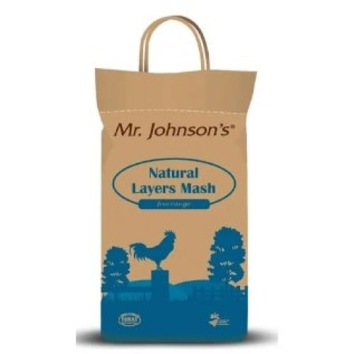 Mr Johnson's Natural Layer Mash, 5kg