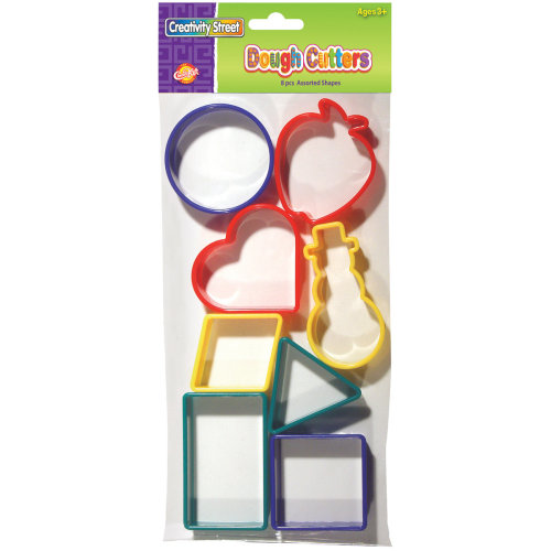 Creativity Street Dough Cutters 8/Pkg-Set 2