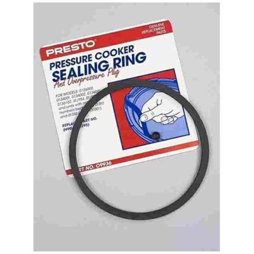 Presto 09936 Pressure Cooker Sealing Ring and Overpressure Plug