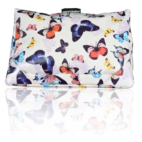 coz-e-reader Butterfly wipe clean tablet cushion stand