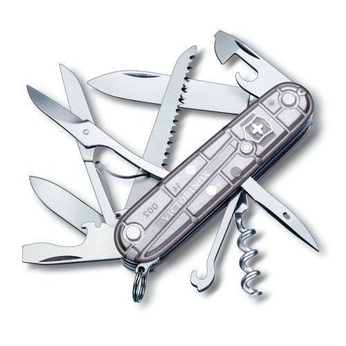 Victorinox Huntsman Swiss Army Penknife (SilverTech)