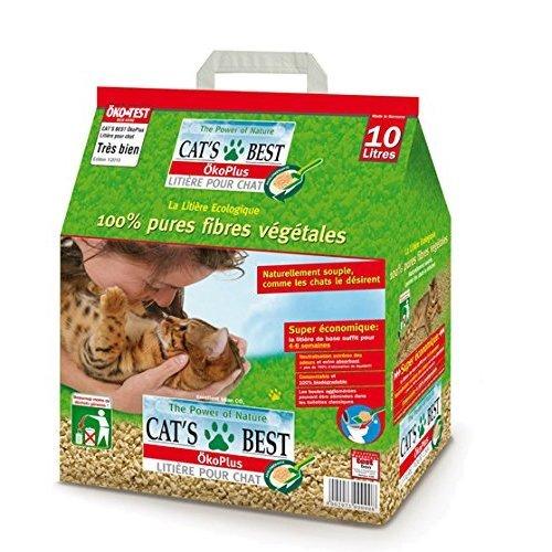 Natural Plant-Based Cat Litter 10 l