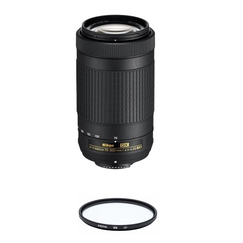 NIKON AF-P 70-300MM F4.5-6.3G ED DX (20061) + HOYA UX UV 58mm Filter