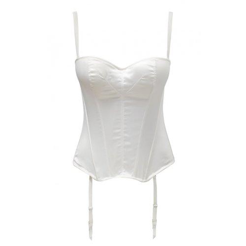 Panache Harlequin Tiffany Strapless Bustier 5437 -  Ivory - 36FF