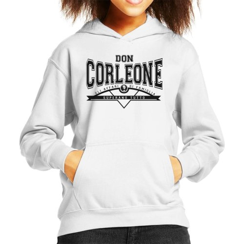 Don Corleone Superano Tutto The Godfather Kid's Hooded Sweatshirt