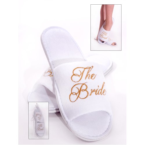 Spa Slippers for the Bride
