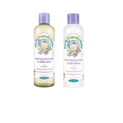 Earth Friendly Bundle - Bubble Bath And Body Lotion Baby Care Bath Time Sensitive Skin