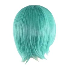 Cosplay Short Straight  Wig for Lolita Halloween Anime Fans [Green]