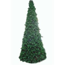 Artificial Slim Glacier Christmas Tree - 180cm, Green