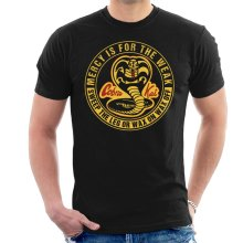 Cobra Kai Mercy Is For The Weak Men's T-Shirt
