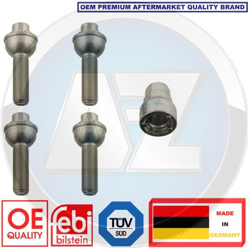 for MERCEDES BENZ V238 LOCKING SECURITY WHEEL BOLTS NUTS KIT SET FEBI BILSTEIN