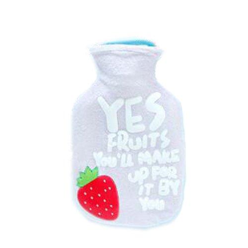 Mini portable Classic Hot water Bottle Cartoon Transparent Rubber Warm Bag  Water spray #3