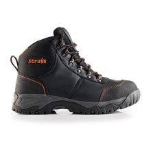 Scruffs ASSAULT SBP SRC Rated Safety Hiker Boots Black (Sizes 7-12) Steel Toe