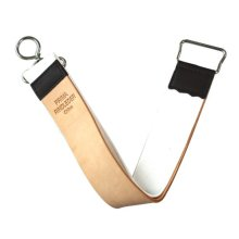 "Leather and Canvas Hanging Razor Strop ""Shaving Strop 2"" 4.5 Cm X 30 Cm"